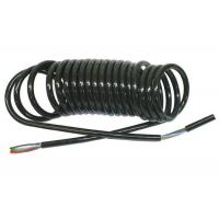 Best Coiled Power Cord  , Curly Electric Cable For Truck Trailer Signal Transmission wholesale