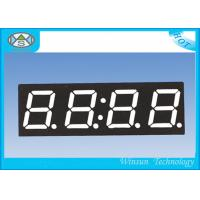 China High Brightness 4 Digit Seven Segment Display / 0.4 Inch Electronic Number Display Red Color on sale