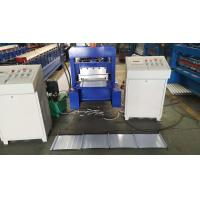 Best Selflock Style Roof Sheet Forming Machine Hydraulic Cutting Type 2 Years Warranty wholesale
