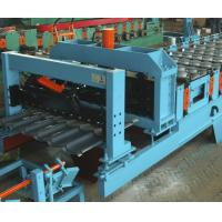 Best Feeding Coil 1000 mm Galvanized Metal Roofing Panel Machine / Steel Corrugated Sheet Roll Forming Machine wholesale