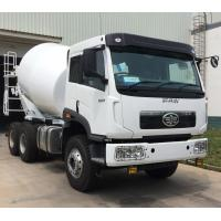Best 10cbm Right Hand Drive 6x4 Concrete Mixer Truck With 3m3/Min Charging Speed And 400L Water Tanker wholesale