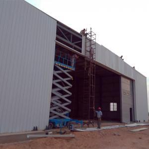Prefabricated Galvanized Light Steel Structure Aircraft Maintenance Hanger