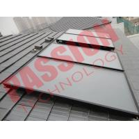 Buy cheap Blue Titanium Flat Plate Solar Collector Pressurized Heating Panel from wholesalers