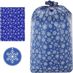 Best LDPE 2mils Plastic Gift Bags Gravure Printing For Christmas Party wholesale