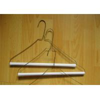 "Best Laundry Hanger 16"" 13g Printed Metal Wire Hanger For Laundry Clothes wholesale"