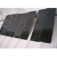 Cheap Black Wood Marble Stone Tiles For Hotel Decoration Vein Cut Acid Resistant for sale