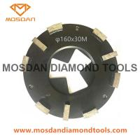 Best 160mm HTC Grinding Plate Head Disc with 10 Bar Segments wholesale