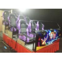 Cheap Purple 9 Seats 5D Simulator with Professional Digital Control Machine for sale