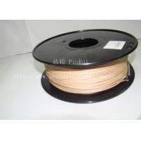 Cheap 0.8KG / roll 3D Printer 1.75mm Wood Filament Material Compatible With Makerbot / UP for sale