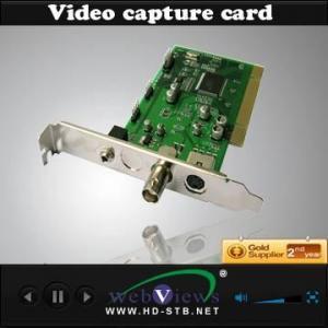 Best SE-01 PCI 1 CH steam media video Capture card wholesale