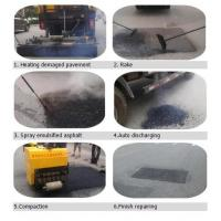 NJJ5161TJR5 Dongfeng Pothole Patch Truck for road crack repair maintenance