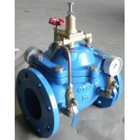 Best Hydraulic Control Pressure Reducing Valves DN100 PN16 With Double Gauge wholesale