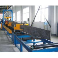Best Durable Automatic Welding Machine , H Beam Production Line Steel Structure Manufacturing wholesale