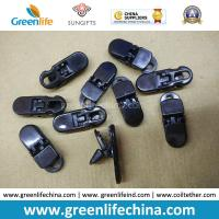 Best PC Material Solid Black Big Alliagator Clips 37x13MM wholesale