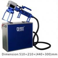Buy cheap Handle Fiber Laser Engraving Machine Small  /  Convenient Laser Marking Machine from wholesalers