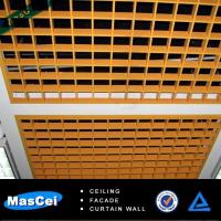Best 600*600mm Aluminum open ceiling tiles/metal tiles made in china wholesale