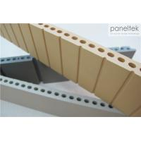 Best Grooved Texture Terracotta Exterior Cladding With Eco - Friendly Natural Clay wholesale
