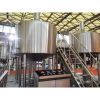 Cheap Touch Screen Large Home Brewing Equipment 2000L Sus304 Brewhouse Equipment for sale