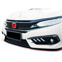 Best Durable ABS Type-R Auto Front Grille for Honda New Civic 2016 2018 wholesale