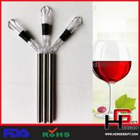 China Wine Chiller Stick Aerator Pourer-3 functions in one on sale