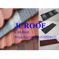 Best Stone Coated Metal Roof Tile steel roofing shingle Modern Classical Style wholesale