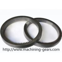 Quality Machinery Parts Steel Internal Gear , Gearbox Parts Large Ring Gear wholesale