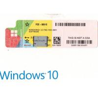 Best Windows 10 Pro Product Key Microsoft Oem Software Professional 64 Bit Multi Language wholesale