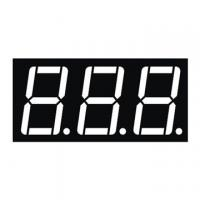 Best 0.56 Inch Red Triple Digit 7 Segment Numeric Display Low Current Operation wholesale
