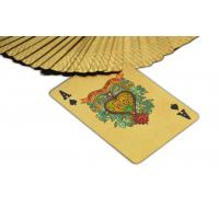 Best 135g/pc One Deck 24k Gold Playing Cards With The Lord Of The Cards Logo wholesale