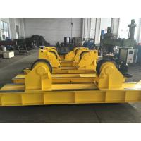 Best Sand Blasting Welding Turning Rolls With Moving System , 40 Ton Loading wholesale