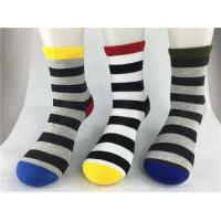 Best Odor Resistent Red Recycled Cotton Socks With Breathable Absorbent Material wholesale