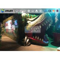 Best Fantastic Mobile 7D Movie Theater Dinosaur Cinema For Theme Park wholesale