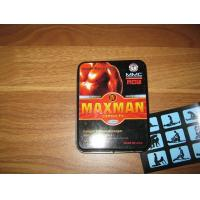 Quality Powerful Safe Male Stamina Enhancement Pills MAXMAN IV Hard Erection wholesale