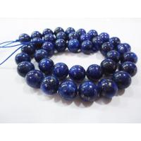 Best Customized Round Lapis Lazuli Stone Bead, Semi Precious Gem Beads 10mm wholesale