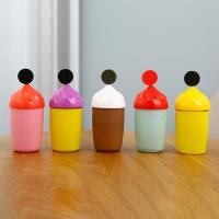 Best 300ml Cute Glass Water Bottle With Silicone Protective Sleeve For Children Drinking wholesale