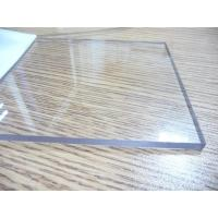 Best Transparent Polycarbonate Sheet / Uv Resistant Polycarbonate Sheets Sound Barrier wholesale