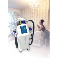 Best Vertical Cryolipolysis Fat Freezing Machine , Supersonic Fat Reduction Device wholesale