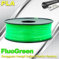 Best PLA Desktop pla 3d printing material Fluorescent  Filament for Markerbot wholesale