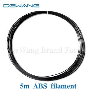 Best Black ABS 3D Printer Filament 1.75mm , makerbot abs filament wholesale