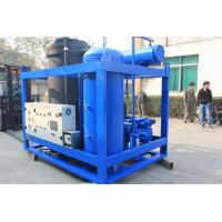 Quality 3 Ton / Day Environmental Cylinder Ice Machine PLC Control For Drinking / Wine wholesale
