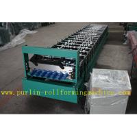 Best Corrugated Roof Wall Cladding Cold Roll Forming Machine With PLC System 0.3mm - 0.8mm wholesale
