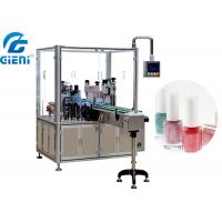 Best Automatic Liquid Nail Polish Filling Equipment PLC And Touch Screen Control wholesale