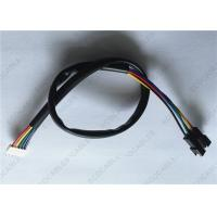 Quality SMR To SCN JST Wire Harness With Black PVC Tube ROHS Compliant wholesale