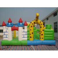Best amusement park equipment inflatable fun city wholesale