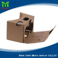 Best OEM LOGO Printed 3D VR Cardboard Boxes , VR Headset Video Glasses wholesale