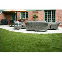 Safe And Durable Artificial Grass For Landscaping 45mm 14700 Tufts / Sqm