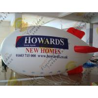 Cheap Celebration Inflatable Zeppelin Airship Large 2.5m PVC Eye - Catching for sale