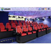Best Virtual Reality Electric 5D Simulator For 5D Movie Theater With 16 Kinds Of Effect wholesale