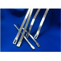Best Natural Color Stainless Steel Cable Ties High Resistance To Acetic Acid wholesale