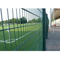 Best PVC Coated 868 Double Wire Mesh Fence Bright Color With Easy Maintain wholesale